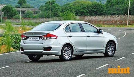 Maruti Ciaz LiveMint Review