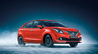 Baleno RS - Red Color